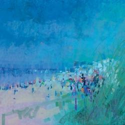 « Plage de Ouistreham » - 50 x 65 cm - 2014