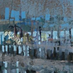 « Port de Ouistreham » - 32 x 24 cm