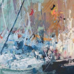« Port de Paimpol - 50 x 65 cm »