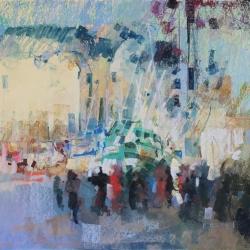 « Port de Trouville » - 12 x 17 cm