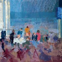 « Terrasse sur la Manche » - 30 x 40 cm - 2012