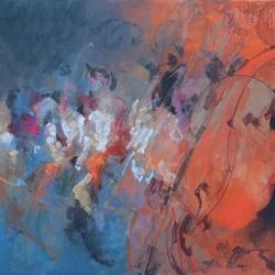 « Orchestre Île de France » - 80 x 60 cm