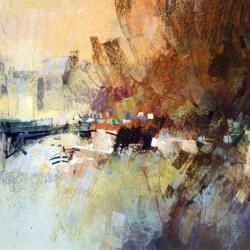 « Paris - Le Pont d'Arcole » - 65 x 50 cm