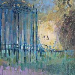 « Porte de Farcheville - 65 x 50 cm »