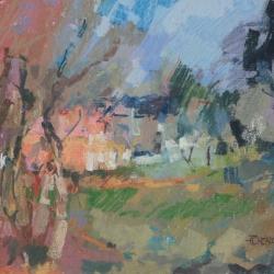 « Argeville » - 24 x 32 cm