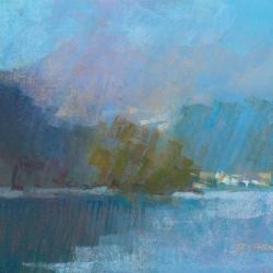 « Lac Chambon » - 30 x 40 cm - 2008