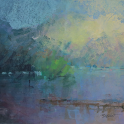 « Lac Chambon - 65x50 cm »