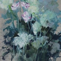 « Fleurs » - 32 x 24 cm