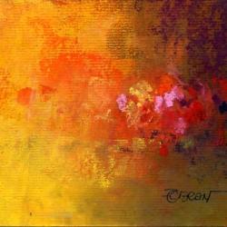 « Jardin à Maisse » - 12 x 16 cm