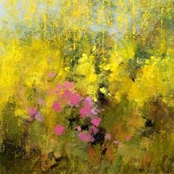 « Jardin à Maisse » - 24 x 16 cm