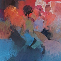 « Le Conciliabule » - 140 x 100 cm - 2013