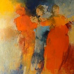 « Le Trio - 65x50cm »