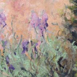 « Les iris du jardin - 16x24cm