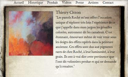 LA MAISON DU PASTEL - THIERRY CITRON