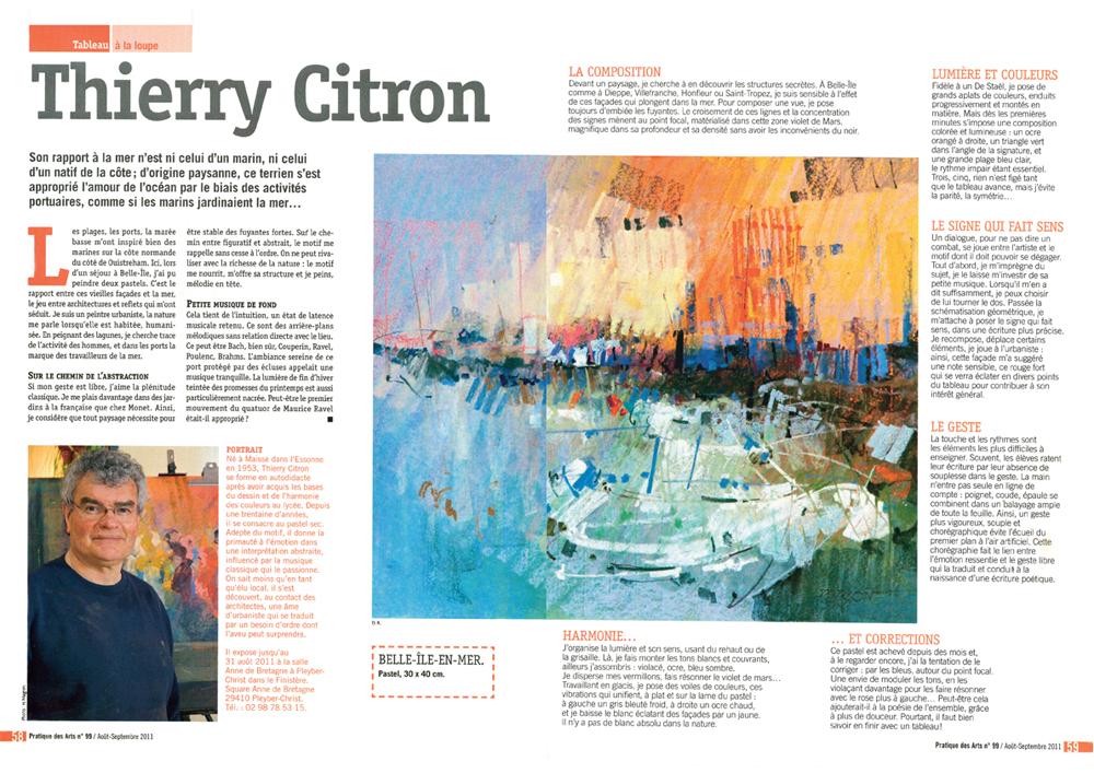 pratique-des-arts-special-pastel-numero-99-aout-septembre-2011-thierry-citron
